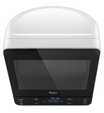 Whirlpool White Countertop Microwave Oven